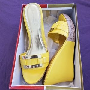 Yellow and Gold wedges